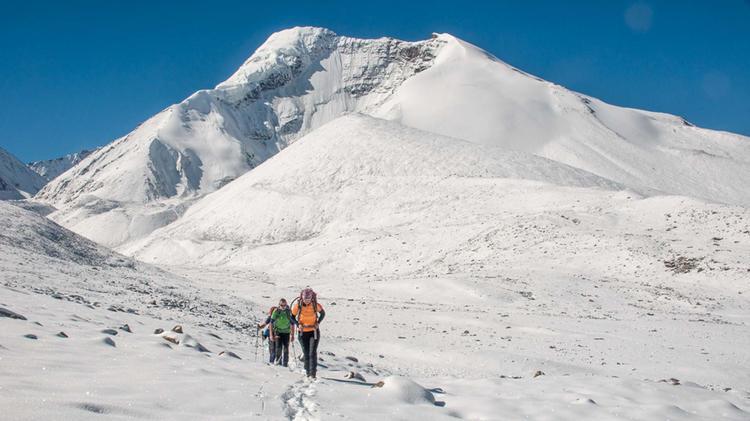 Einfaches Trekking In Ladakh Ab Dem Kan Yatse Basisalger