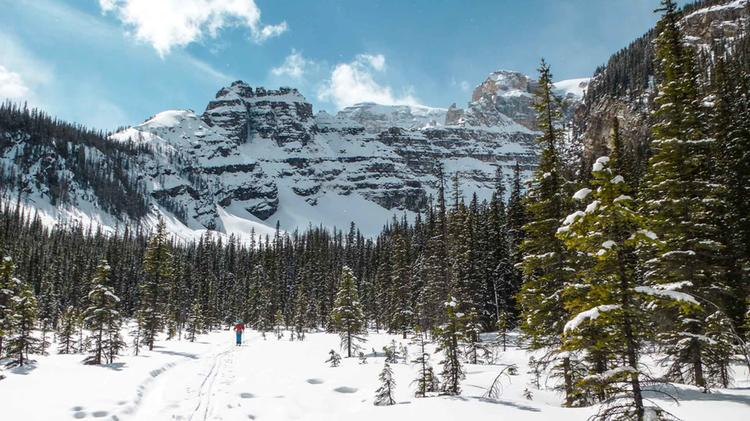 Einsame Skitouren In Kanada