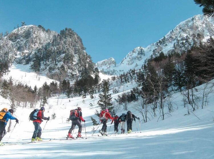 Einsame Skitouren In Montenegro