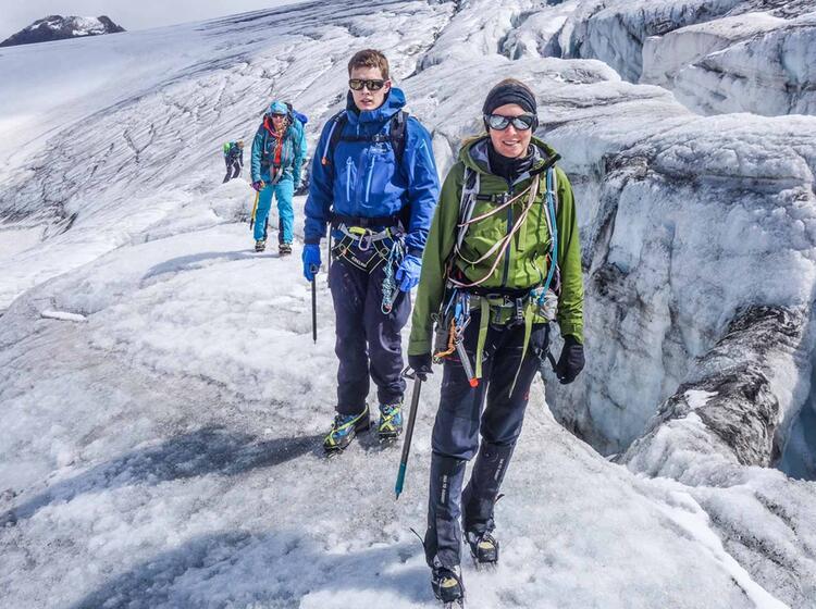 Einsteiger Hochtour Im Oetztal Ideal Nach Einem Gletscherkurs