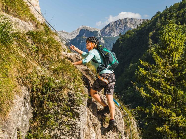 Einsteiger Klettersteig Berchtesgaden