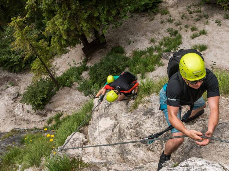 Einsteigerkurs Klettersteig Berchtesgaden