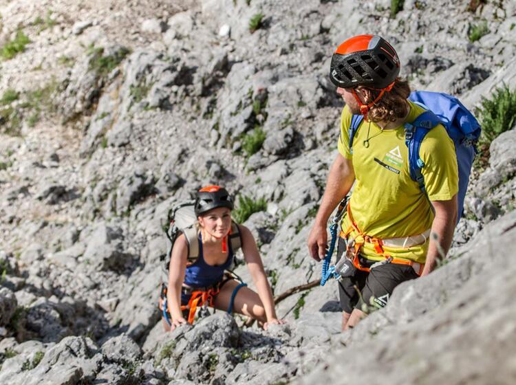 Klettersteig Zugspitze Höllental : Klettersteig durch das höllental bis auf die zugspitze
