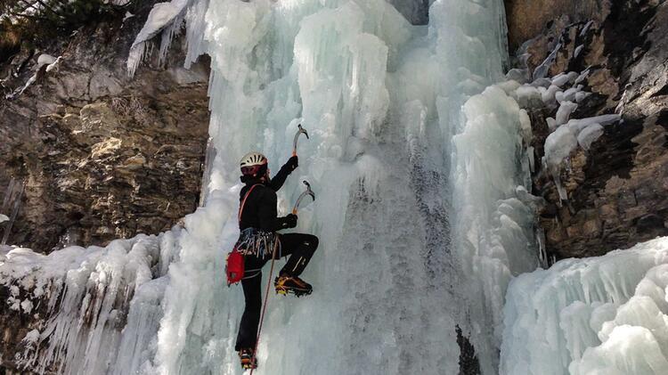Eiskletterkurs Mit Bergfuherer Peter Hevesi