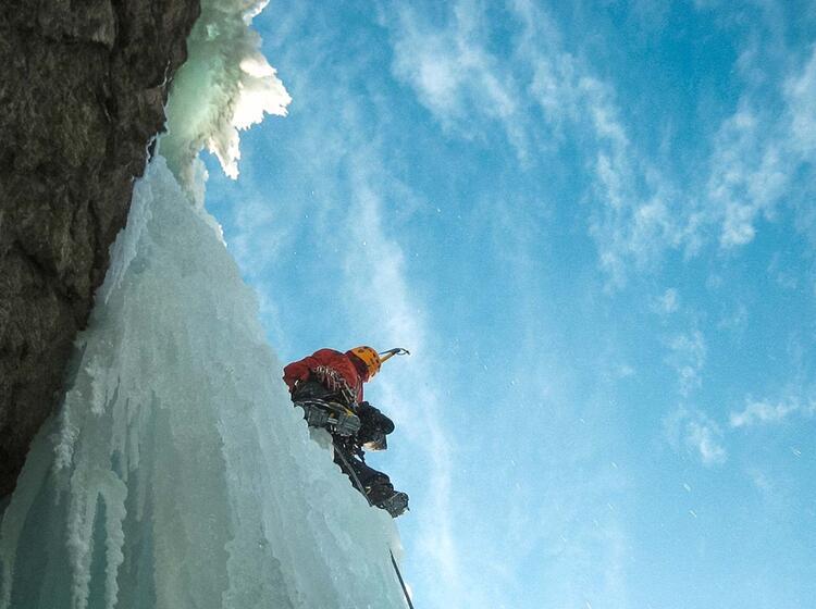 Eisklettern Im Averstal Und In Kandersteg Mit Bergfuehrer