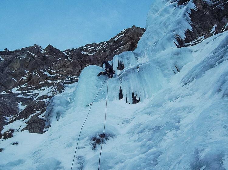 Eisklettern Im Vorstieg In Bad Gastein Mit Der Alpinschule 1