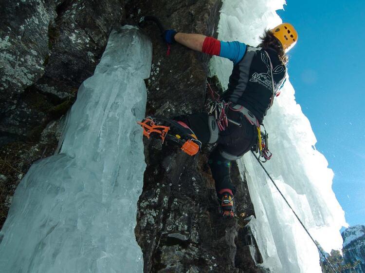 Eisklettern Und Mixed Klettern Mit Bergfuehrer