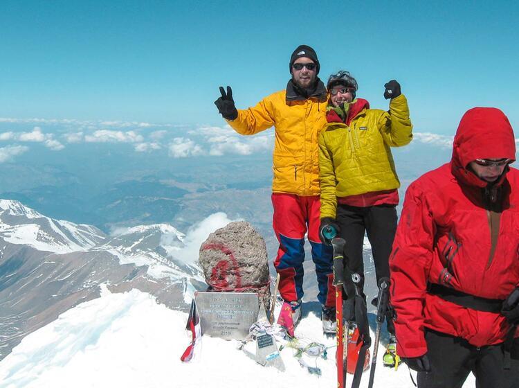 Elbrus Besteigung Mit Ski