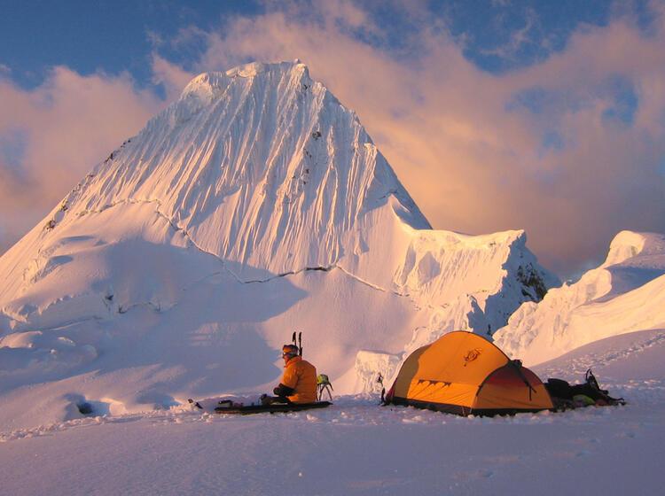 Expedition Mit Bergfuehrer Zum Alpamayo