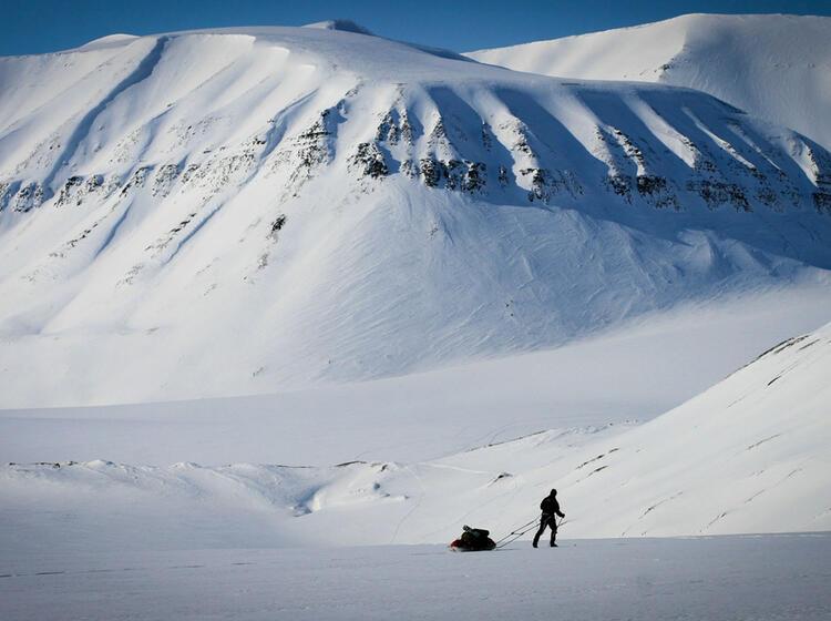 Expedition Nach Spitzbergen Mit Ski Und Pulka