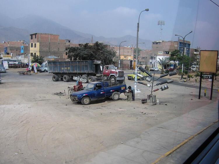 Fahrt Von Lima Nach Haraz Mit Dem Bus Zur Expedition Huascaran