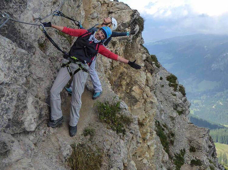 Klettersteig Oberjoch : Iseler familien klettersteig im allgäu mit bergführer