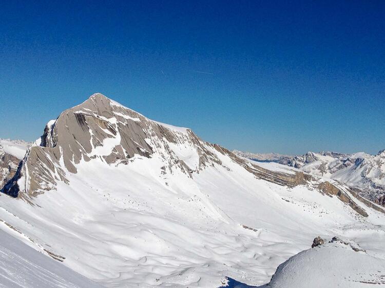 Fanes Schneeschuhtouren Und Skitouren Um Die Lavarella Hu Tte