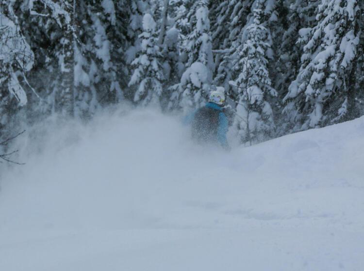 Feinster Pulverschnee In Sibirien Bei Den Skitouren Mit Bergfuehrer Im Altai Gebirge