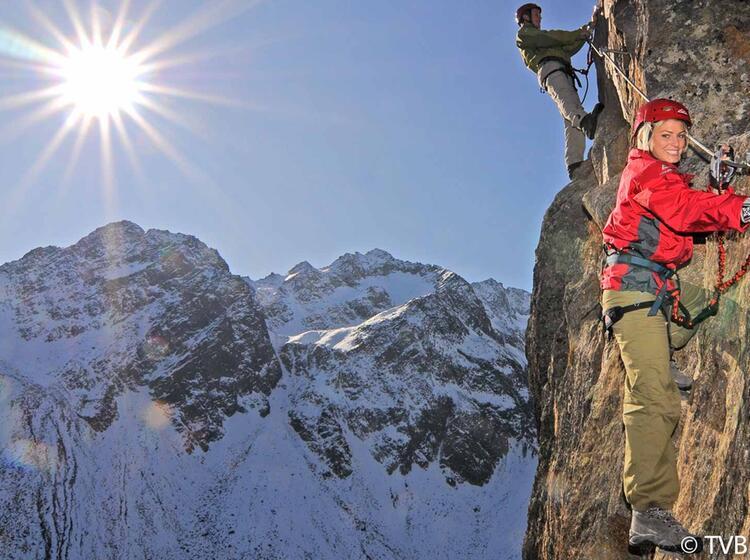 Fernau Klettersteig Im Stubai