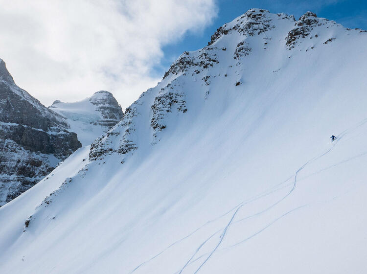 Freeriden Und Skitour Kanada