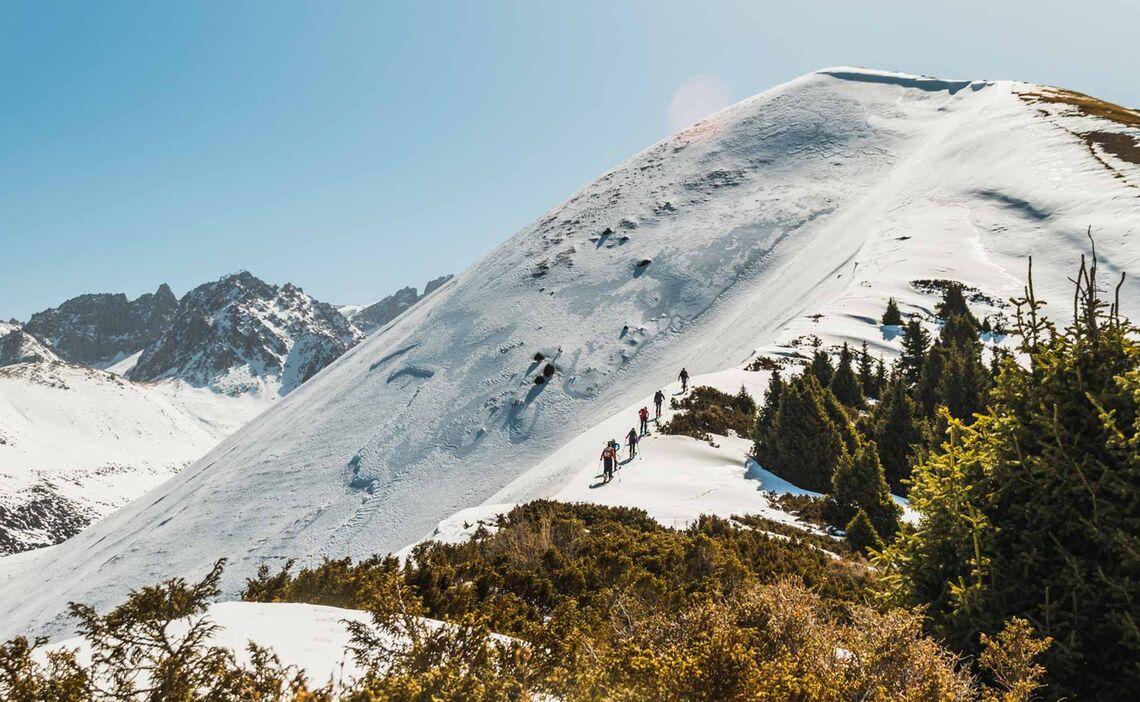 Fruehjahrs Skitouren In Kirgistan