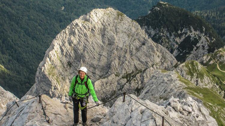 Fuehrung Auf Die Alpspitze Mit Bergfuehrer