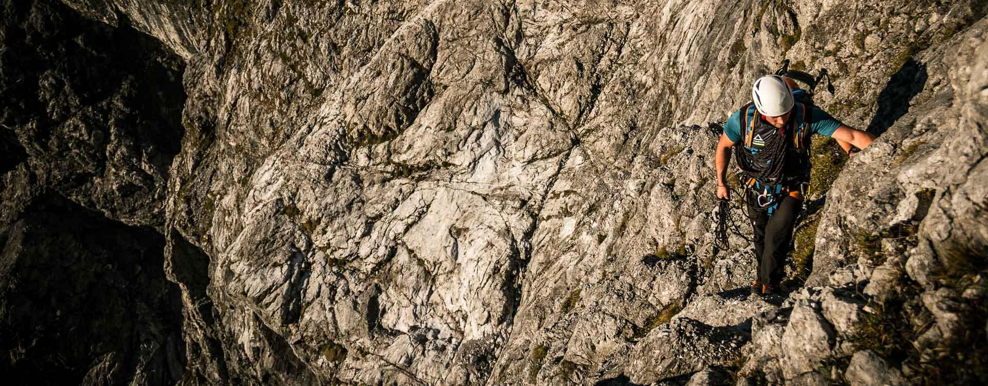Fuehrung durch die Watzmann Ostwand durch einheimische Bergfuehrer