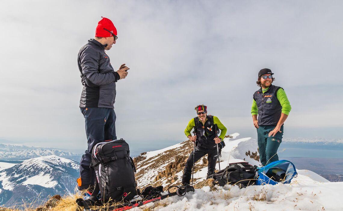 Fuehrung Skitour In Kirgistan