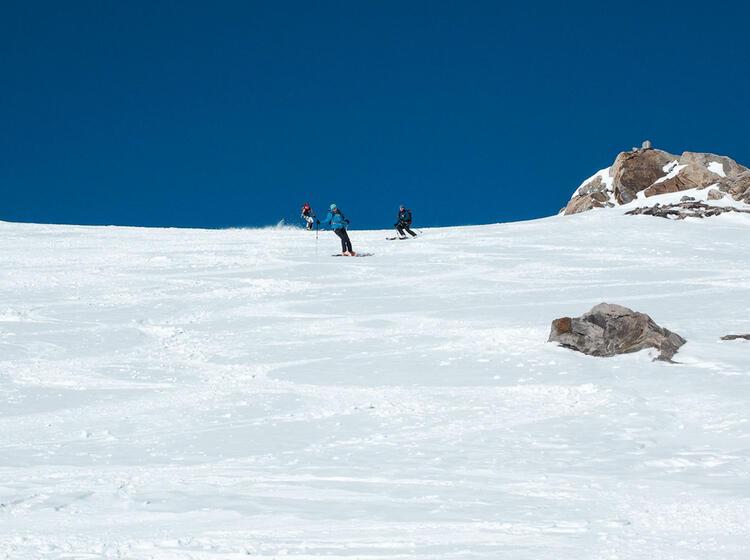Gefu Hrte Skitour Auf Den Grossvenediger
