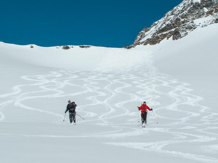 Gefu Hrte Skitour Haute Route