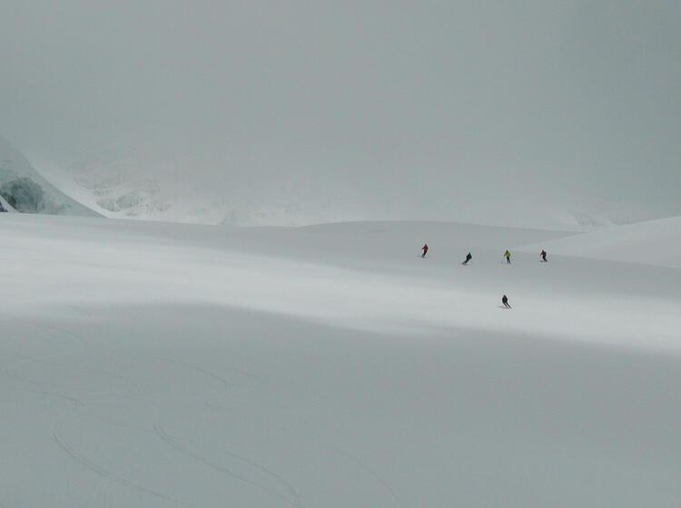 Gefu Hrte Skitour Zum Elbrus