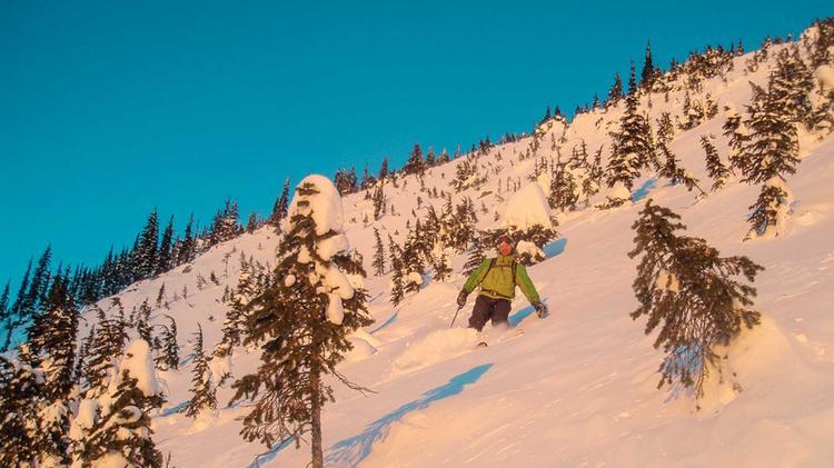 Gefu Hrte Skitouren In Den Rocky Mountains