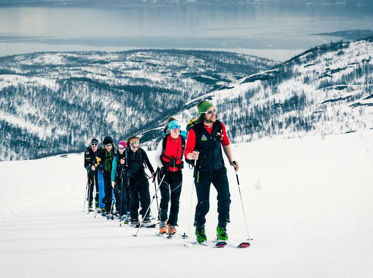 Gefu Hrte Skitouren Lyngen