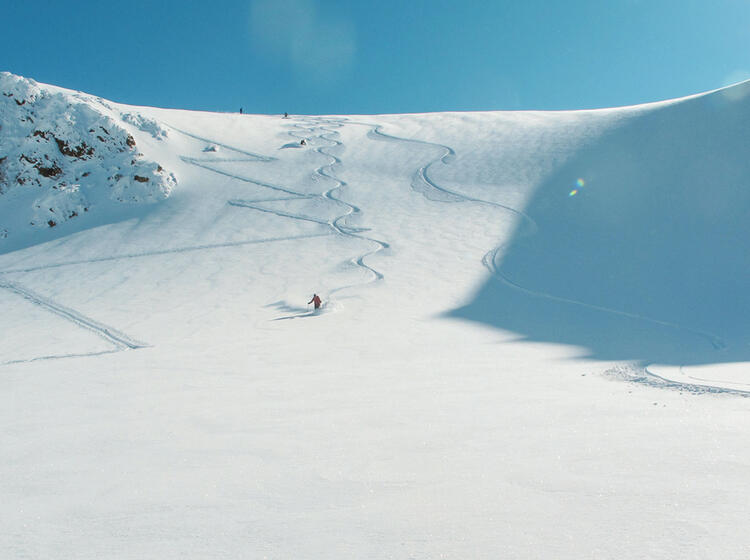 Gefu Hrte Skitouren Mit Bergfu Hrer