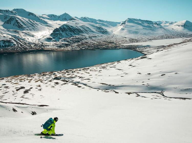 Gefu Hrte Skitourenreise Island