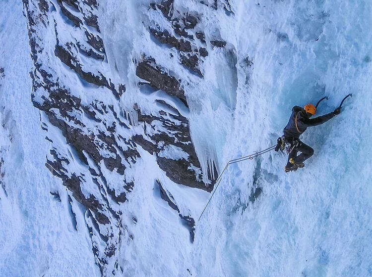 Gefu Hrtes Eisklettern In Mehrseilla Ngen In Den Dolomiten Bad Gastein Und Vielen Weiteren Eiskletterrevieren
