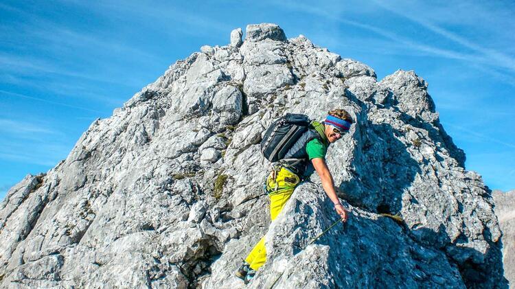 Gefuehrt Ueber Den Blassengrat Mt Bergfuehrer