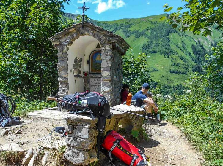 Gefuehrte Alpenueberquerung Auf Dem E5