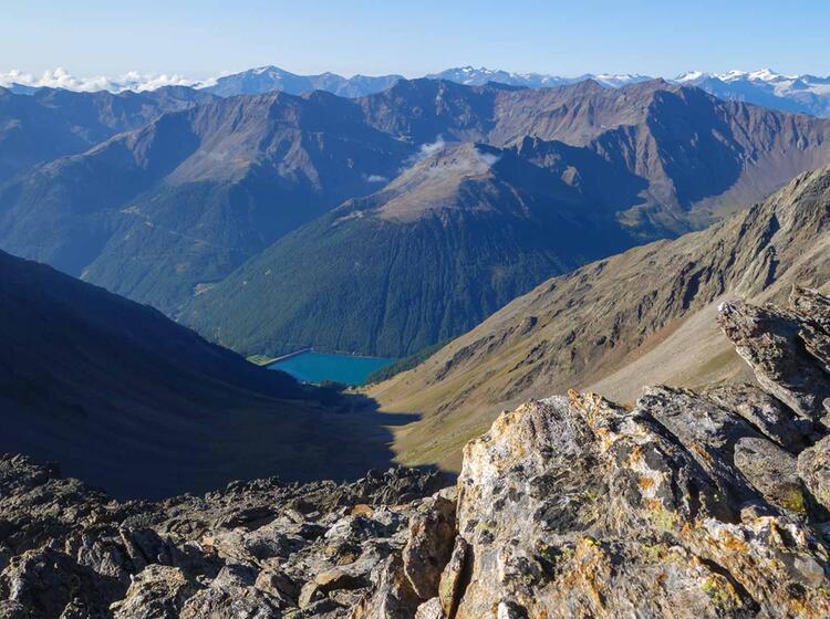 Gefuehrte Bergwanderung In Der Schweiz