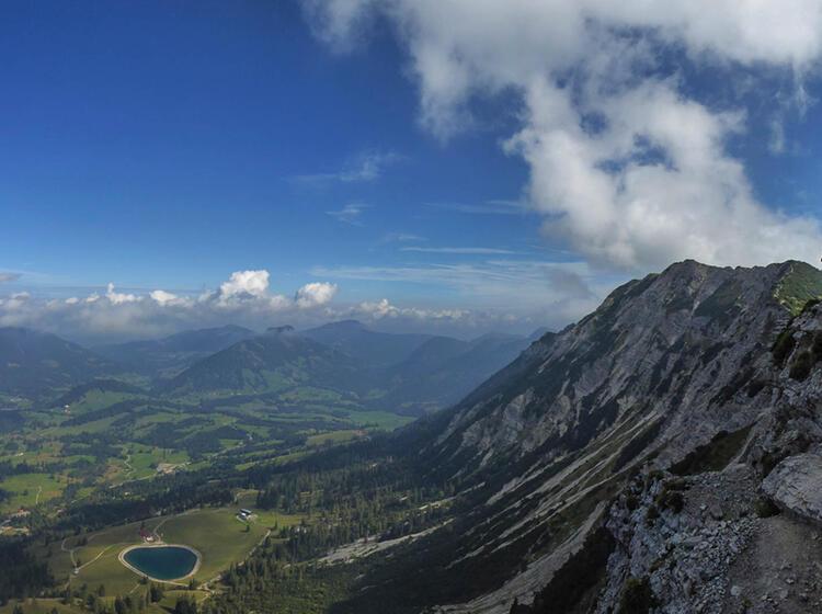 Gefuehrte Klettersteige Im Allgaeu