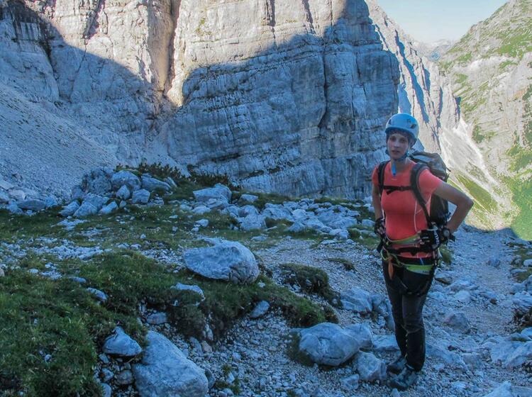 Gefuehrte Klettersteigwoche Am Triglav In Slowenien