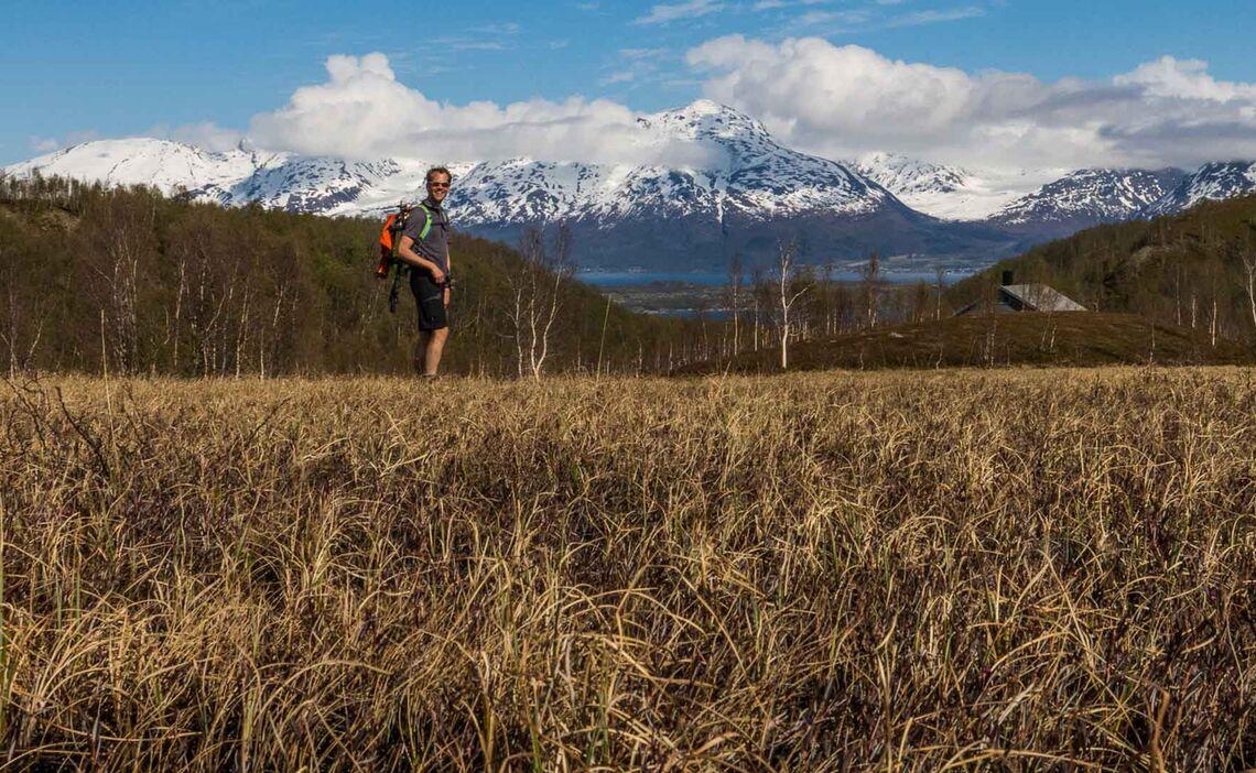 Gefuehrte Schneeschuhtouren In Den Lyngen Alpen
