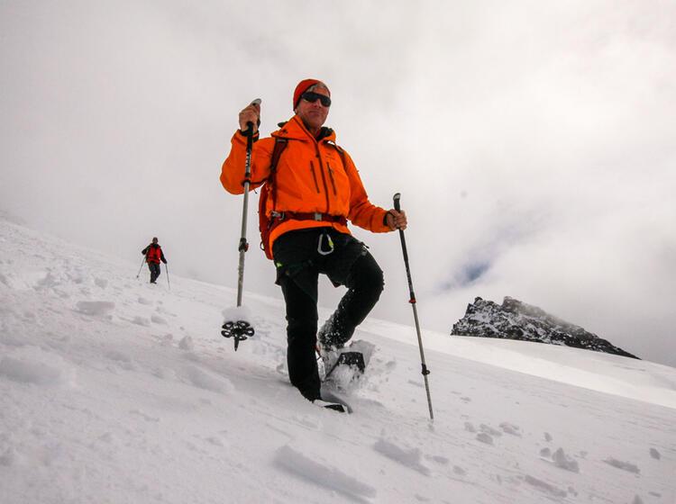 Gefuehrte Schneeschuhtouren