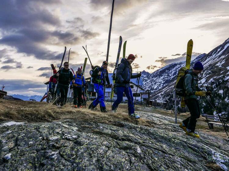 Gefuehrte Skitour Am Ortler Und Am Cevedale Mit Bergfuehrer