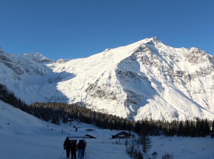 Gefuehrte Skitour Im Rauriser Tal