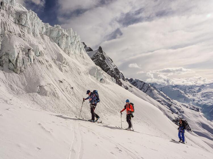 Gefuehrte Skitour Tour Du Ciel Im Wallis