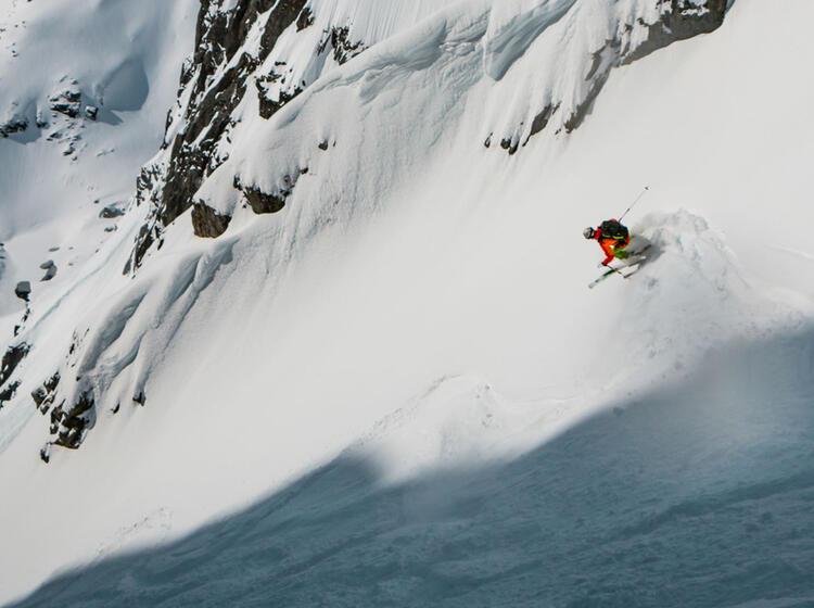 Gefuehrte Skitouren Auf Den Lofoten Mit Abfahrten Bis Zum Meer 1