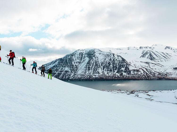 Gefuehrte Skitouren In Island