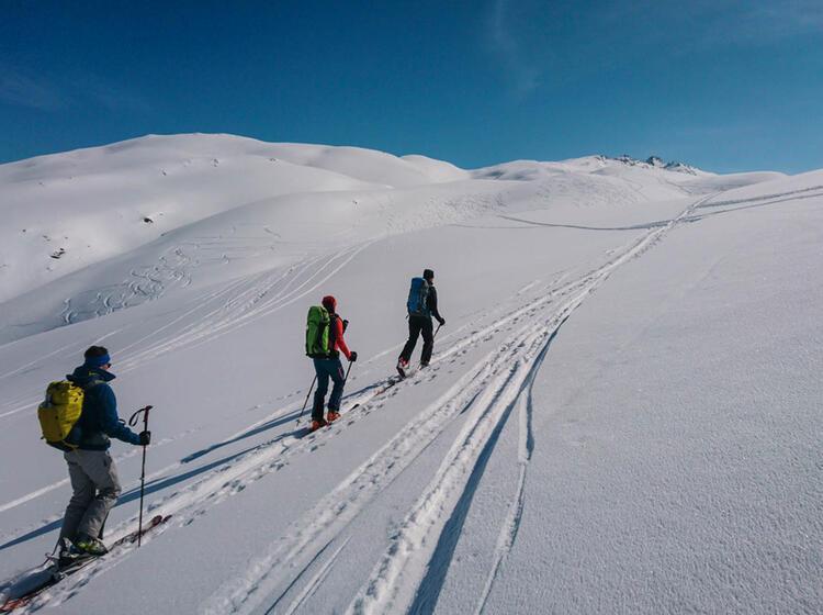Gefuehrte Skitouren Mit Bergfuehrer In Livigno