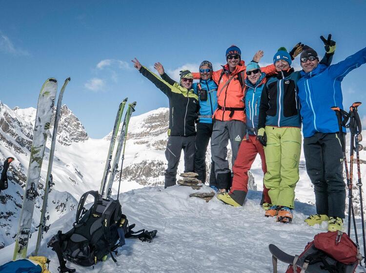 Gefuehrte Skitouren Reise Kanada