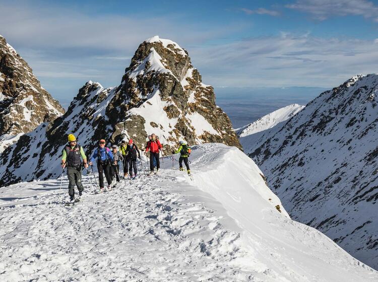 Gefuehrte Skitourenreise In Rumaenien