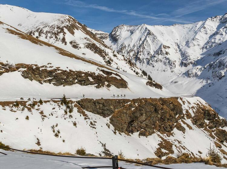 Gefuehrte Skitourenreise Nach Rumaenien Einsame Skitouren Garantiert