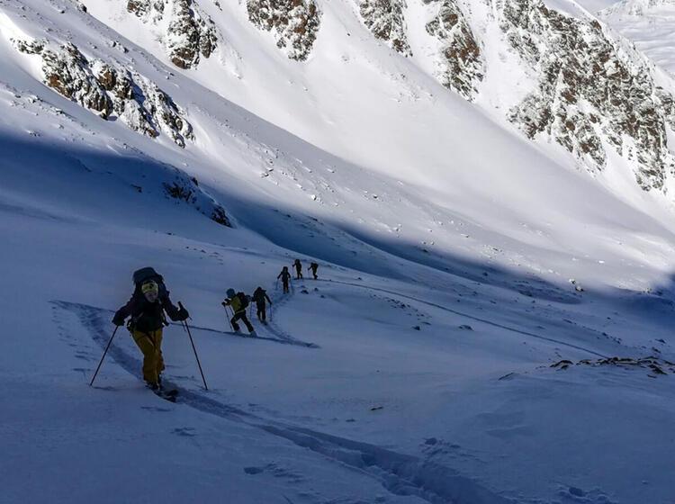 Gefuehrte Skitourenwoche In Suedtirol In Langtaufers
