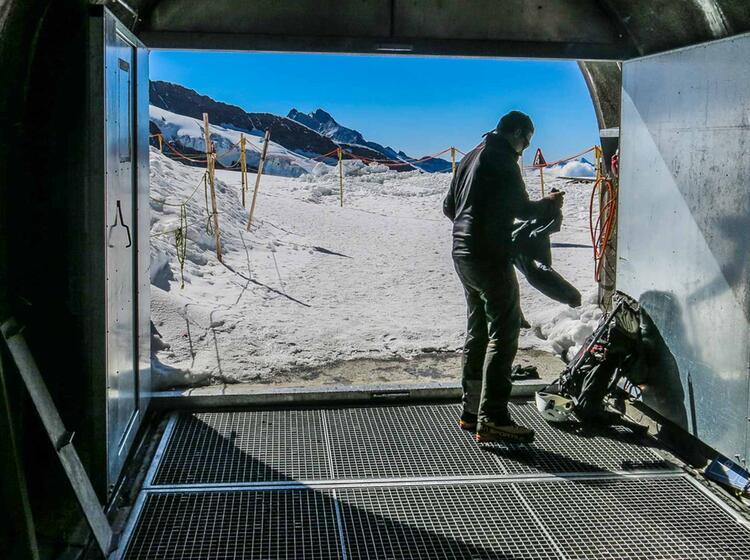 Gefuehrte Tour Vom Jungfraujoch